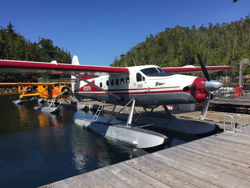 Air Transportation to Hakai