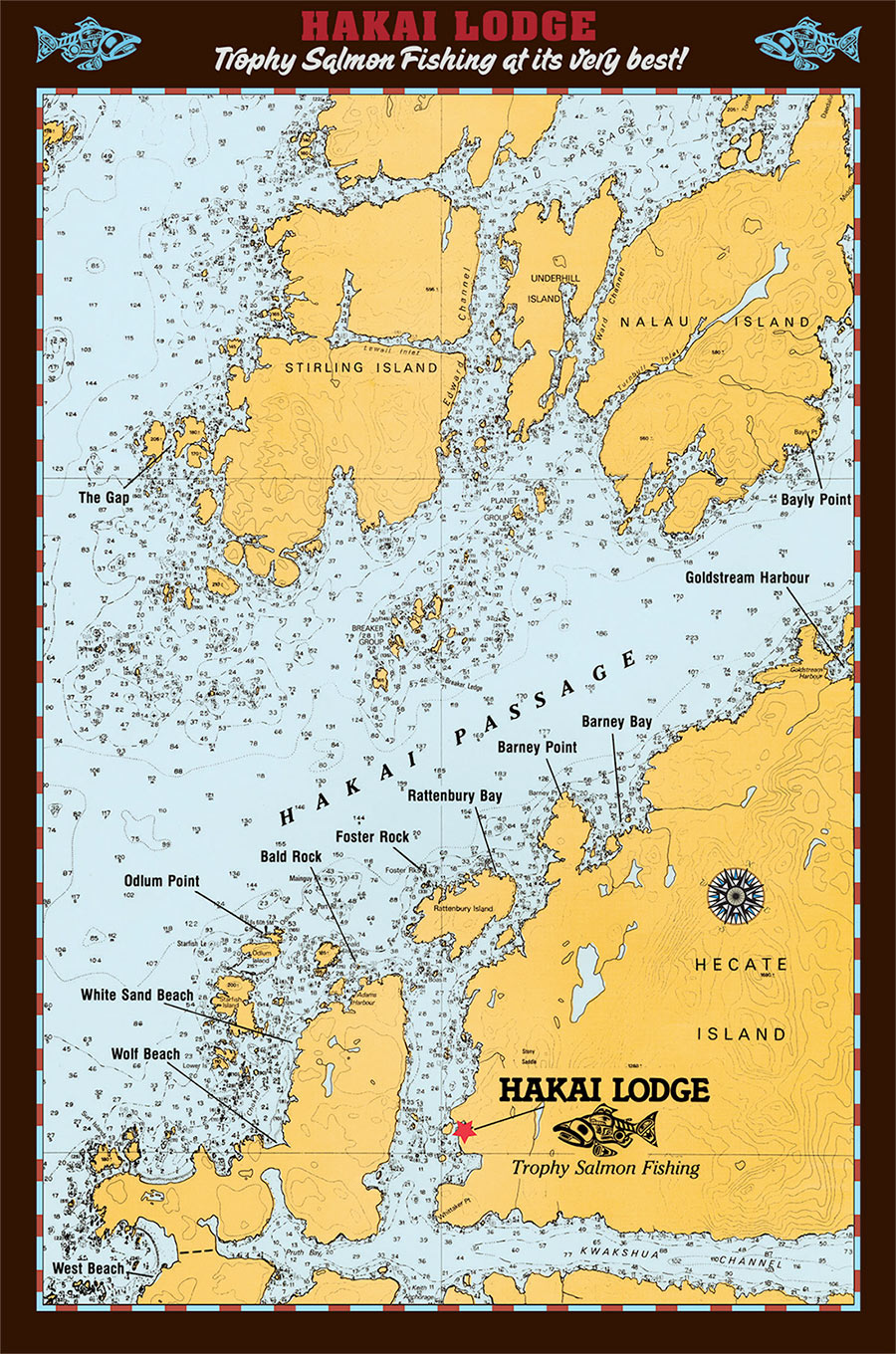 Where Is Vancouver On The Map Of Canada.Location Fishing Hakai Lodge