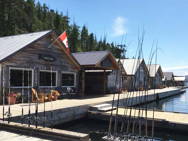 British Columbia Fishing Lodges